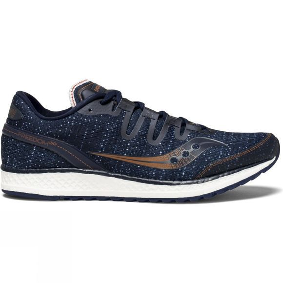 Saucony Mens Freedom ISO Shoe Navy/Denim/Copper