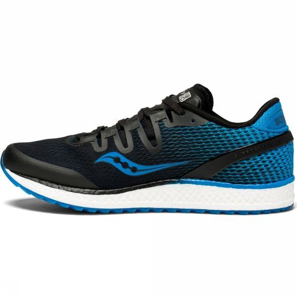 Saucony Mens Freedom ISO Shoe Black/Blue