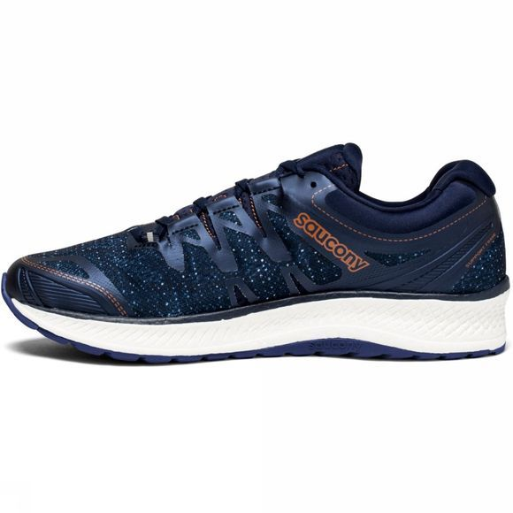 Saucony Mens Triumph IS0 4 Shoe Navy/Denim/Copper