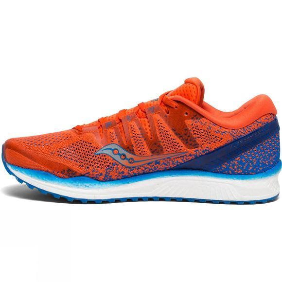Saucony Mens Freedom ISO 2 Orange / Blue
