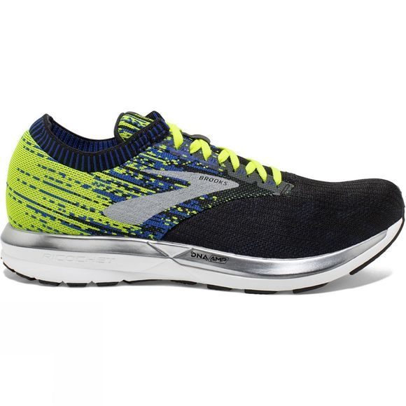 Brooks Mens Ricochet Black/Nightlife/Blue