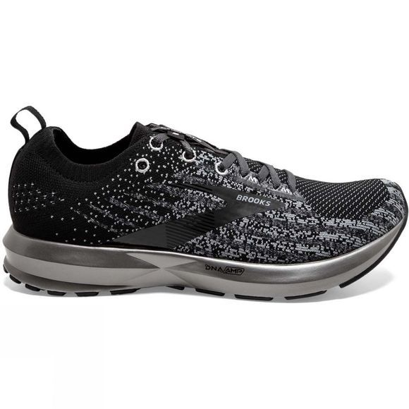 Brooks Mens Levitate 3 Black/Ebony/Silver