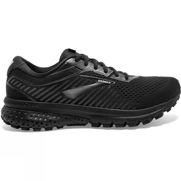 Brooks Men's Ghost 12 Extra Wide Black/Grey
