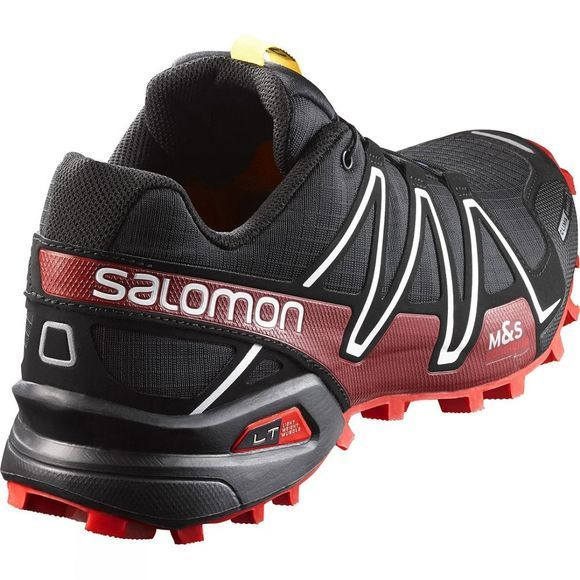 Salomon Men's Spikecross 3 CS Shoe Black / Radiant Red
