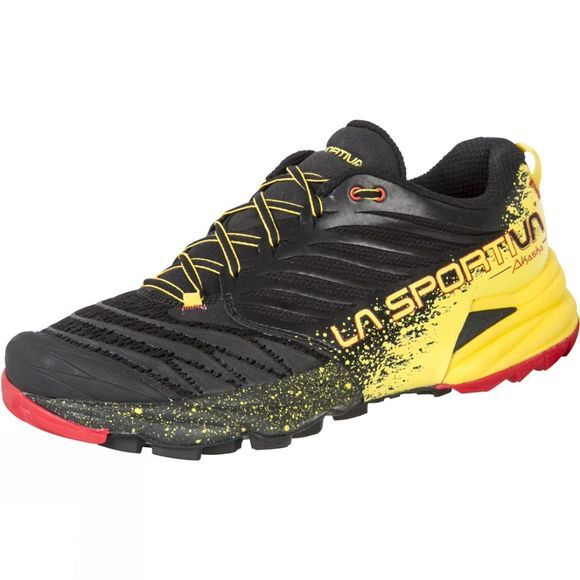 La Sportiva Mens Akasha Shoe Black/Yellow
