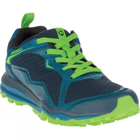 Merrell Mens All Out Crush Light Shoe Bright Green