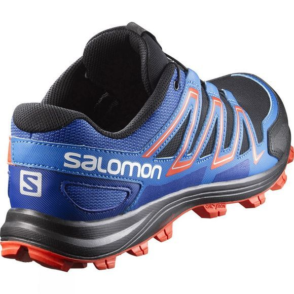 Salomon Mens Speedtrak Shoe Black / Blue Yonder