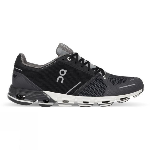 On Mens Cloudflyer Shoe Black / White
