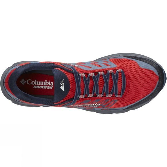 Columbia Mens Bajada III Shoe Bright Red / Lux