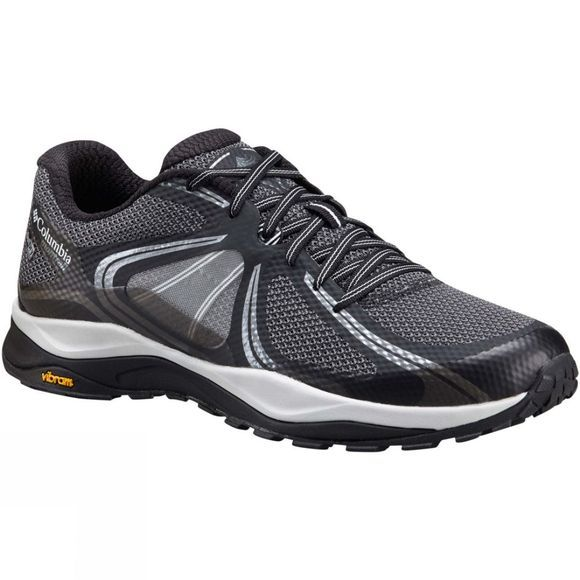 Columbia Mens Trient Outdry Shoe Black / Cool Grey