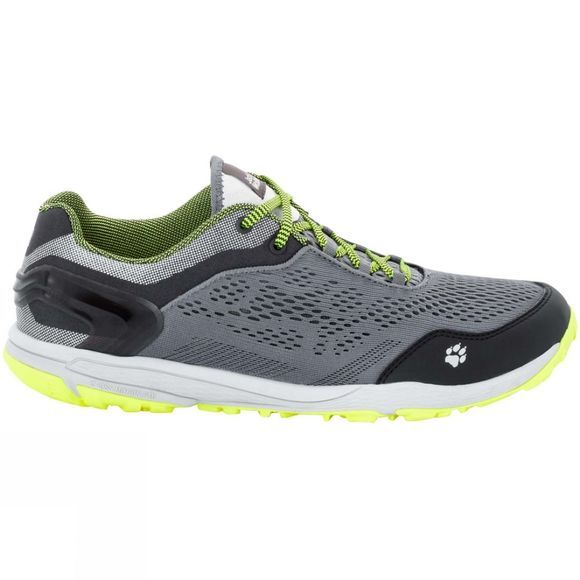 Jack Wolfskin Mens Crosstrail Chill Low Shoe Neon Yellow
