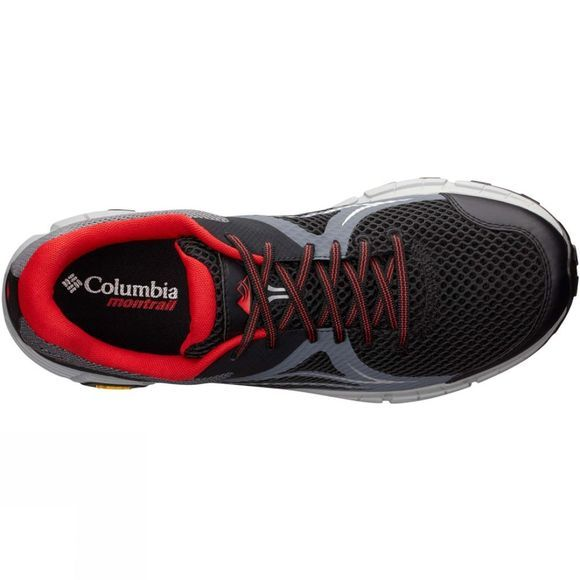 Columbia Mens Mojave Trail II OutDry Shoe Black/Bright Red