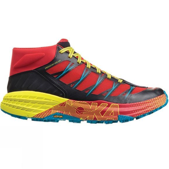 Hoka One One Men's Speedgoat Mid WP Chinese Red / Caribbean Sea