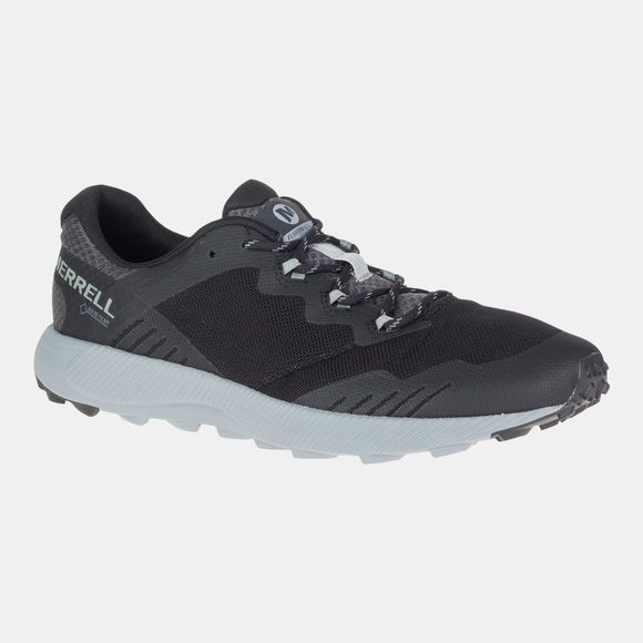 Merrell Mens Fluxion Gtx Shoe Black/Granite