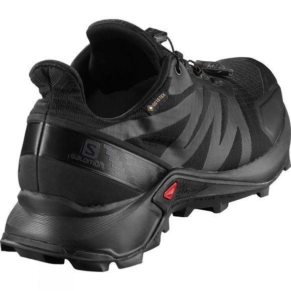 Salomon Mens Supercross GTX Shoe Black/Black/Black