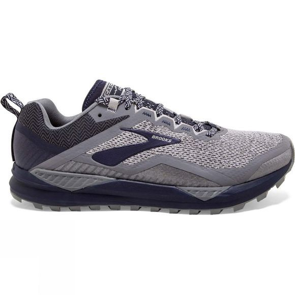 Brooks Men's Cascadia 14 Wide Grey/Navy