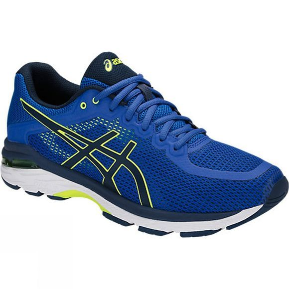 Asics Mens Gel-Pursue 4 Shoe Victoria Blue/Dark Blue/Safety Yellow