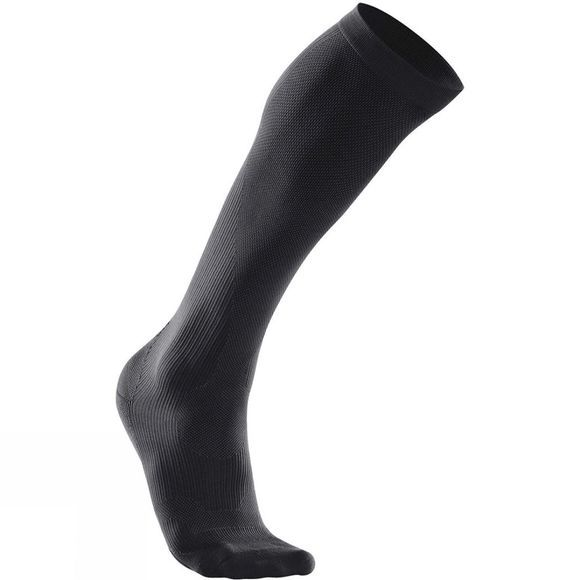 2XU Mens 24/7 Compression Socks Black/Black