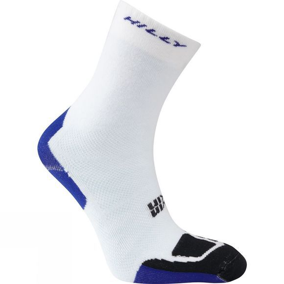 Hilly Twin Skin Classic Sock White / Electric Blue / Black