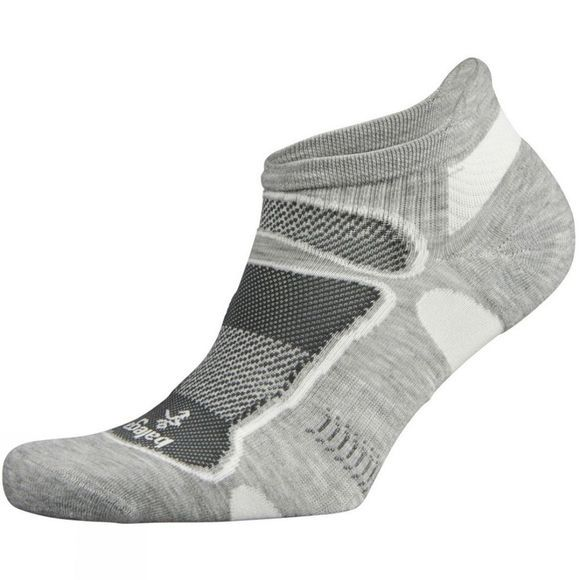 Balega Ultralight No Show Mid Grey       /White