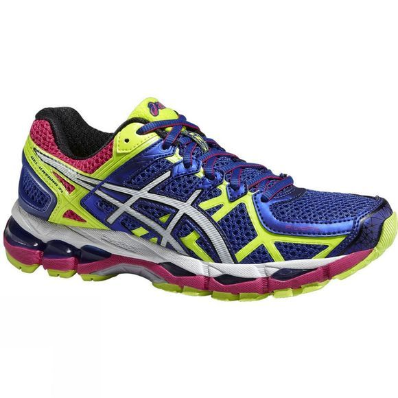 Asics Womens Gel-Kayano 21 Dk Blue/Lt Yellow
