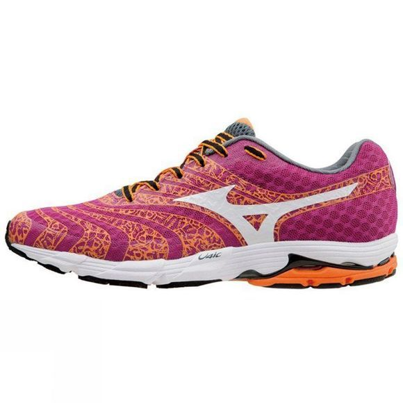 Mizuno Womens Wave Sayonara 2 Bright Red/Orange