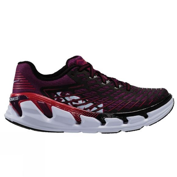Hoka One One Womens Vanquish 3 Shoe Grape Juice/Virtual Pink