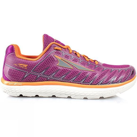 Altra Womens One V3 Shoe Purple/Orange