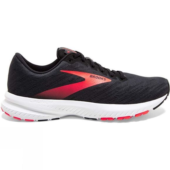 Brooks Womens Launch 7 Ebony/Black/Coral