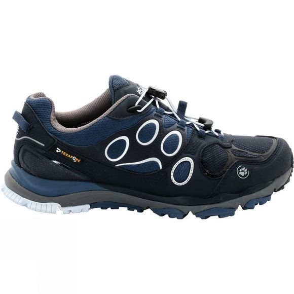 Jack Wolfskin Womens Trail Excite Texapore Low Shoe Dark Sky