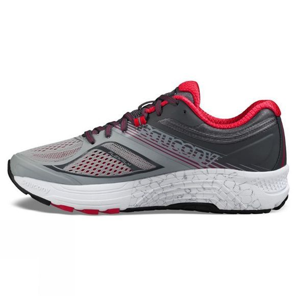 Saucony Womens Guide 10 Silver/Berry