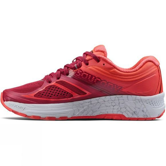 Saucony Womens Guide 10 Berry / Coral