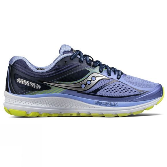 Saucony Womens Guide 10 Purple/Blue/Citron