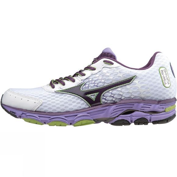Mizuno Womens Wave Inspire 11 Shoe White          /Purple