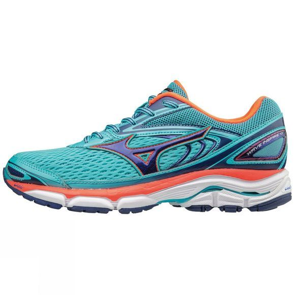 Mizuno Womens Wave Inspire 13 Shoe BlueRadiance/Blueprint/F