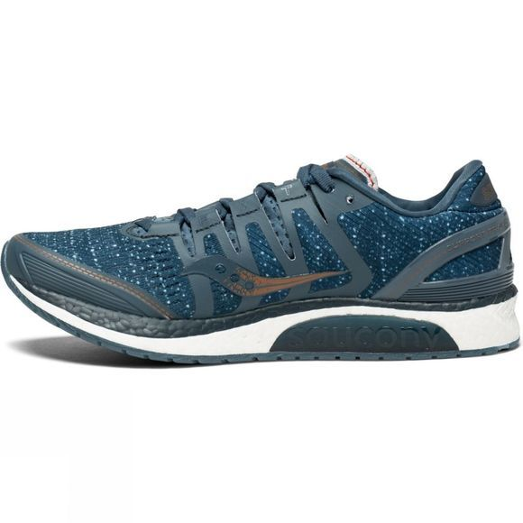 Saucony Womens Liberty ISO Shoe Blue/Denim/Copper