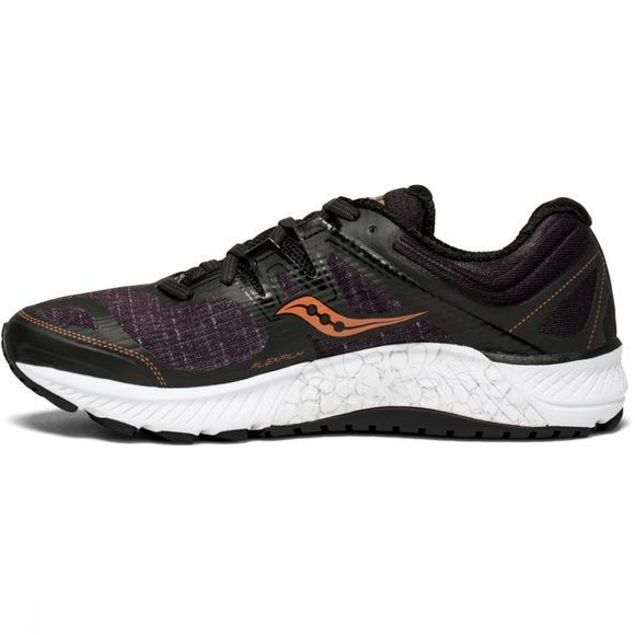 Saucony Womens Guide ISO Shoe Black/Denim/Copper