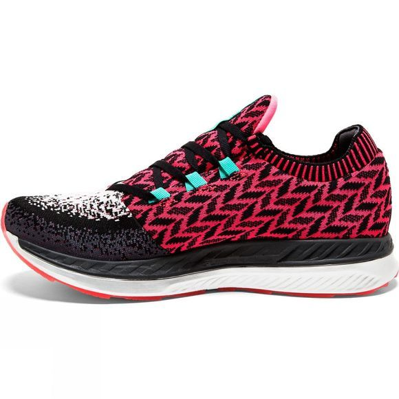 Brooks Womens  Bedlam Pink/Black/White
