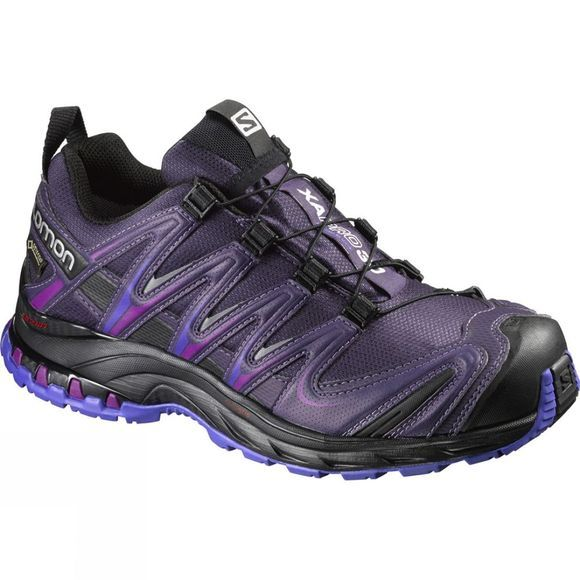 Salomon Womens XA Pro 3D GTX Shoe Nightshade Grey/Black/Spectrum