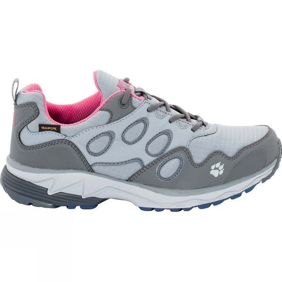 Jack Wolfskin Womens Venture Fly Texapore Low Shoe Rosebud