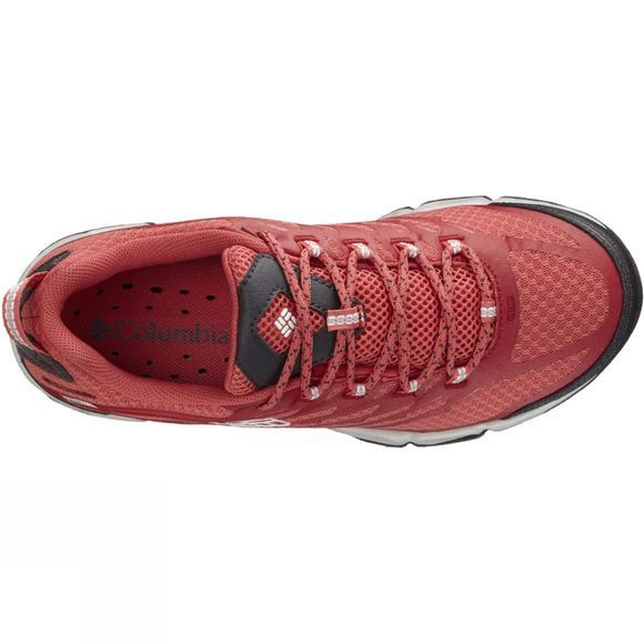 Columbia Womens Womens Ventrailia II OutDry Shoe Sunset Red / White