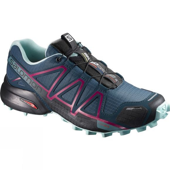Salomon Women's Speedcross 4 CS Shoe Mallard Blue/Reflecting Pond/Eggshell Blue