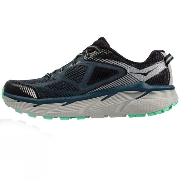 Hoka One One Womens Challenger ATR 3 Shoe Midnight Navy/Spring Bud