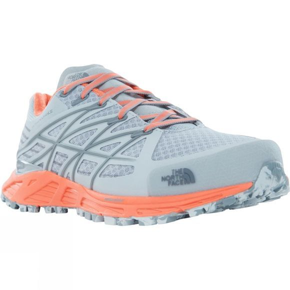 The North Face Womens Ultra Endurance Shoe High Rise Grey/Nasturtium Orange