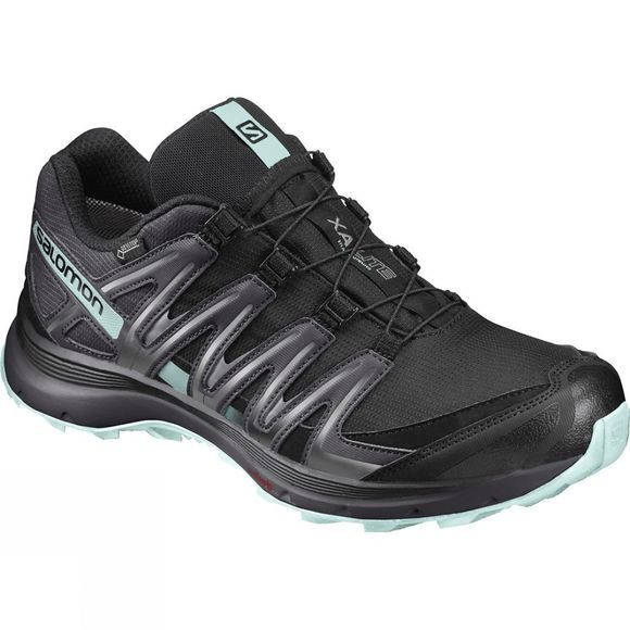 Salomon Womens XA Lite GTX Shoe Black/Fair Aqua