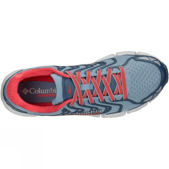 Columbia Womens Fluidflex F.K.T. II Shoe Dark Mirage/ Red Camillia