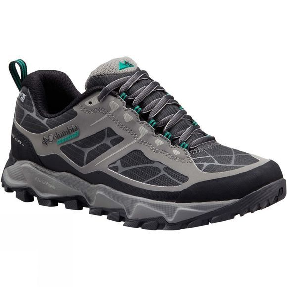Columbia Womens Trans Alps II OutDry Shoe Stratus / Dark Grey