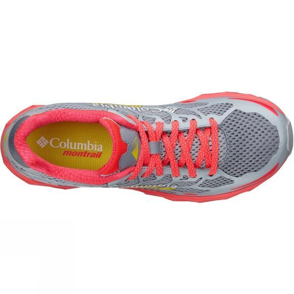 Columbia Womens Rogue F.K.T Shoe Tradewinds Grey / Laser Red