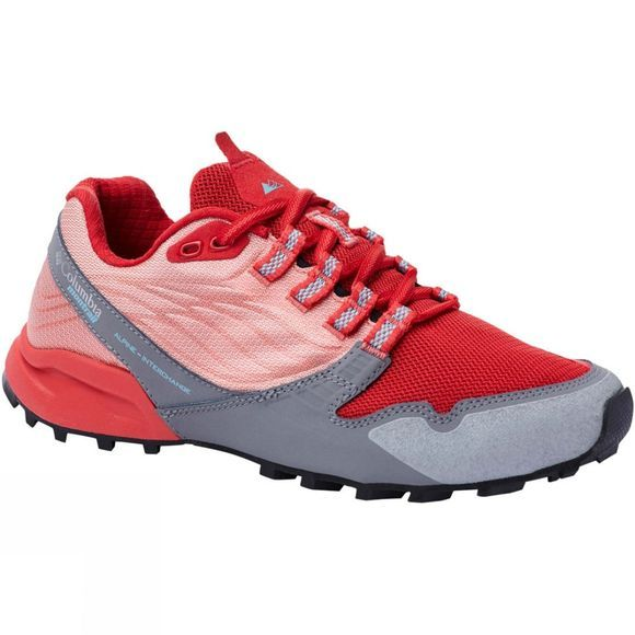 Columbia Womens Alpine FTG Shoe Red Coral, Iceberg