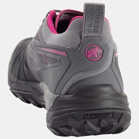 Mammut Womens Saentis Low GTX Shoe Black/Titanium